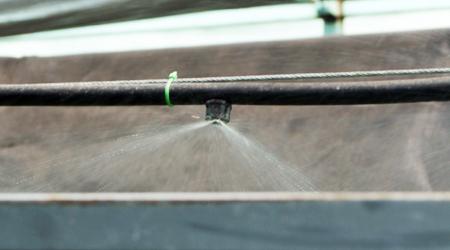 De surco en surco instalacion del sistema de riego for Nebulizadores de agua