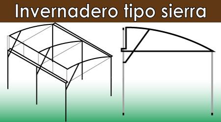 Invernaderos formas de los invernaderos for Materiales para la construccion de un vivero